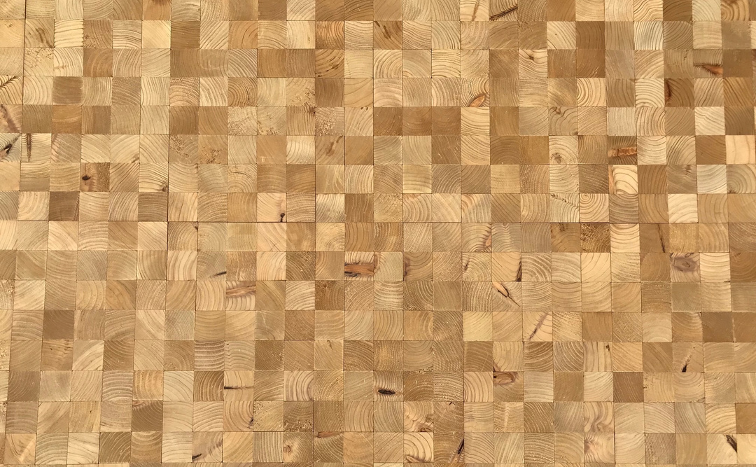 End grain woodflooring